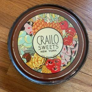 Vintage Crailo Candy Sweet Tin